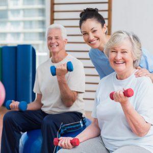 Общий комплекс упражнений для пожилых людей