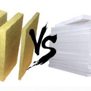 Фасадные работы. Пенопласт или минвата?