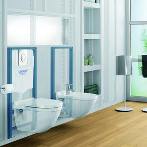 Грамотное обустройство ванной комнаты