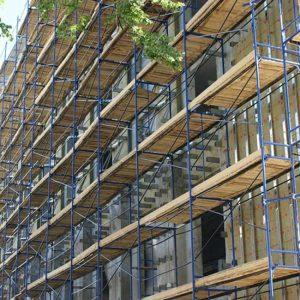 Строительные леса: удобство и безопасность на строительном объекте