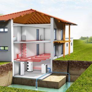 Источники дешевой энергии: тепловые насосы на геотермальной энергии
