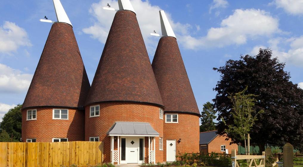 East MAlling Oast house on Sussex blend