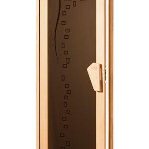 Стеклянные двери для сауны – на что ориентироваться при выборе дверей для бани