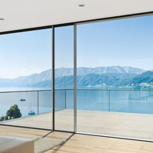 Современные окна из алюминия