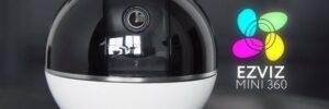 Новые компактные видеокамеры наблюдения для дома EZVIZ