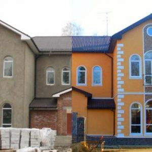 Фасадные работы в зимний период