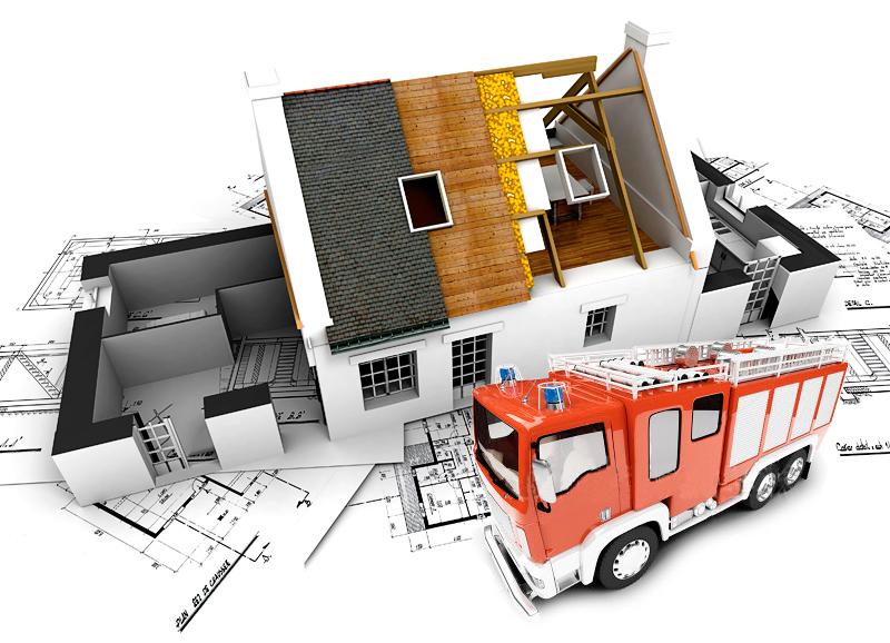 монтаж противопожарных систем