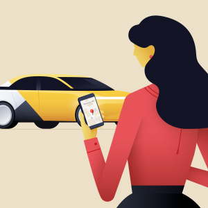 Заказ такси через приложение ITAXI – быстро, качественно и надежно!
