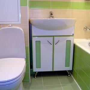 Обои в ванной комнате: тонкости выбора и поклейки