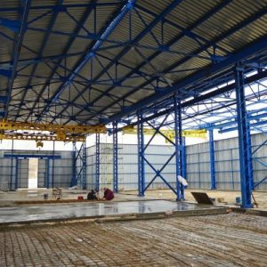 Строительство складов – прочность и надёжность конструкции