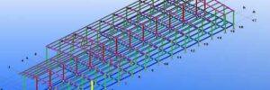 Эталон исполнительного чертежа стальной или железобетонной конструкции
