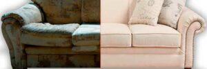 Как обновить мягкую мебель?